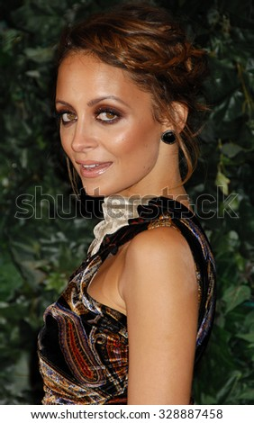 LOS ANGELES - FEB 22 - Nicole Richie arrives at the 4th QVC Red Carpet Style on February 22, 2013 in Los Angeles, CA              - stock photo