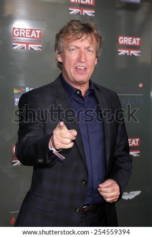 LOS ANGELES - FEB 20:  Nigel Lythgoe at the GREAT British Film Reception Honoring The British Nominees Of The 87th Annual Academy Awards at a London Hotel on February 20, 2015 in West Hollywood, CA - stock photo