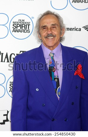 LOS ANGELES - FEB 21:  Pepe Serna at the 30th Film Independent Spirit Awards at a tent on the beach on February 21, 2015 in Santa Monica, CA - stock photo