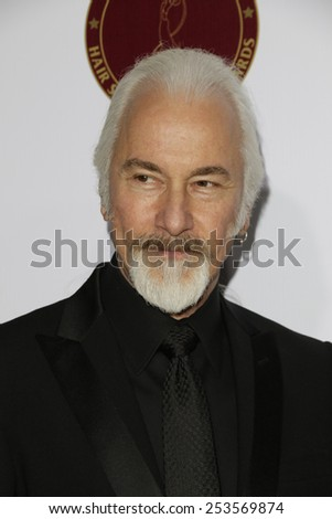 LOS ANGELES - FEB 14: Rick Baker at the Make-Up Artists & Hair Stylists Guild Awards at the Paramount Theater on February 14, 2015 in Los Angeles, CA - stock photo