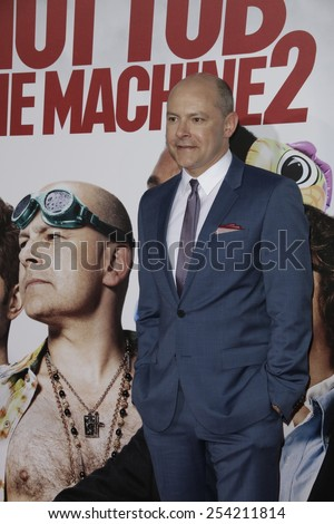 LOS ANGELES - FEB 18: Rob Corddry at the 'Hot Tub Time Machine 2' premiere on February 18, 2014 in Los Angeles, California