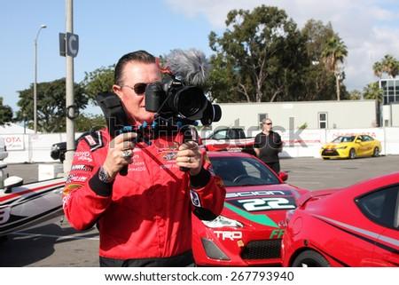 LOS ANGELES - FEB 7:  Robert Patrick at the Toyota Grand Prix of Long Beach Pro/Celebrity Race Press Day at the Grand Prix Compound on FEB 7, 2015 in Long Beach, CA - stock photo