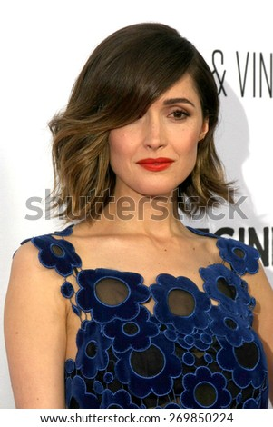 "LOS ANGELES - FEB 15:  Rose Byrne at the ""Adult Beginners"" Los Angeles Premiere at the ArcLight Hollywood Theaters on April 15, 2015 in Los Angeles, CA - stock photo"