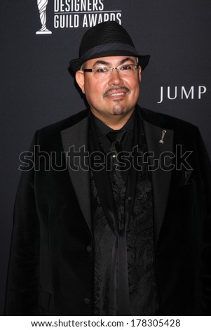 LOS ANGELES - FEB 22:  Salvador Perez at the 16th Annual Costume Designer Guild Awards at Beverly Hilton Hotel on February 22, 2014 in Beverly Hills, CA