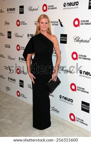 LOS ANGELES - FEB 22: sandra lee at the Elton John Oscar Party 2015 at the City Of West Hollywood Park on February 22, 2015 in West Hollywood, CA - stock photo