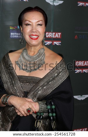 LOS ANGELES - FEB 20:  Sue Wong at the GREAT British Film Reception Honoring The British Nominees Of The 87th Annual Academy Awards at a London Hotel on February 20, 2015 in West Hollywood, CA