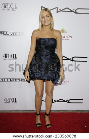 LOS ANGELES - FEB 14: Sunny Mabrey at the Make-Up Artists & Hair Stylists Guild Awards at the Paramount Theater on February 14, 2015 in Los Angeles, CA - stock photo