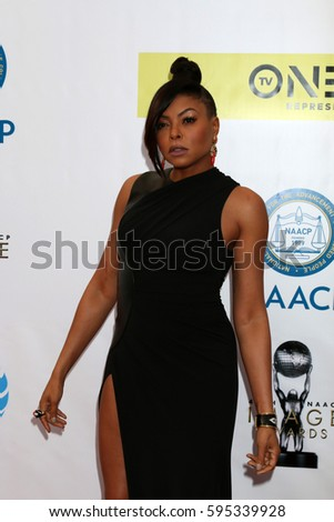 LOS ANGELES - FEB 11:  Taraji P Henson at the 48th NAACP Image Awards Arrivals at Pasadena Conference Center on February 11, 2017 in Pasadena, CA