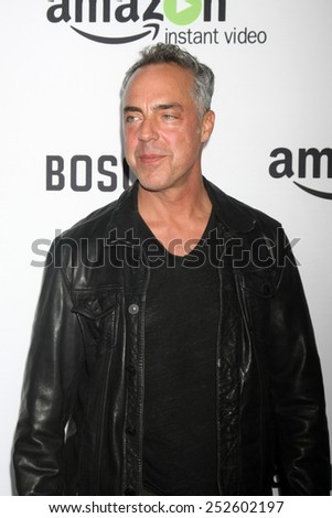 "LOS ANGELES - FEB 3:  Titus Welliver at the ""Bosch"" Amazon Red Carpet Premiere Screening at a ArcLight Hollywood Theaters on February 3, 2015 in Los Angeles, CA"