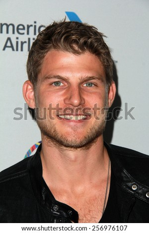 "LOS ANGELES - FEB 21:  Travis Van Winkle at the 3rd ""Gold Meets Golden"" at the Equinox on February 21, 2015 in West Los Angeles, CA"