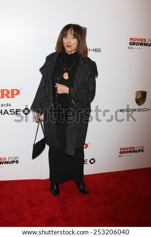 LOS ANGELES - FEB 2:  Valerie Harper at the AARP 14th Annual Movies For Grownups Awards Gala at a Beverly Wilshire Hotel on February 2, 2015 in Beverly Hills, CA - stock photo