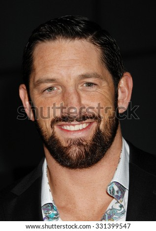 LOS ANGELES - FEB 26 - Wade Barrett arrives at the Dead Man Down World Premiere on February 26, 2013 in Los Angeles, CA
