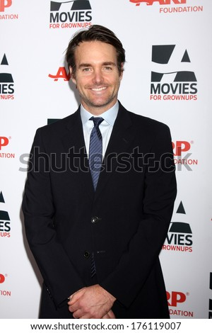 "LOS ANGELES - FEB 10:  Will Forte at the AARP ""Movies for Grownups"" Awards at Beverly Wilshire Hotel on February 10, 2014 in Los Angeles, CA"