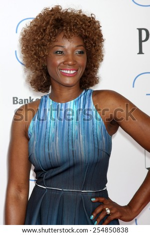 LOS ANGELES - FEB 21:  Yolanda Ross at the 30th Film Independent Spirit Awards at a tent on the beach on February 21, 2015 in Santa Monica, CA - stock photo