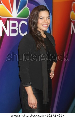 LOS ANGELES - JAN 13:  America Ferrera at the NBCUniversal TCA Press Day Winter 2016 at the Langham Huntington Hotel on January 13, 2016 in Pasadena, CA