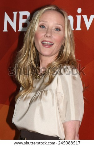 LOS ANGELES - JAN 15:  Anne Heche at the NBCUniversal Cable TCA Winter 2015 at a The Langham Huntington Hotel on January 15, 2015 in Pasadena, CA
