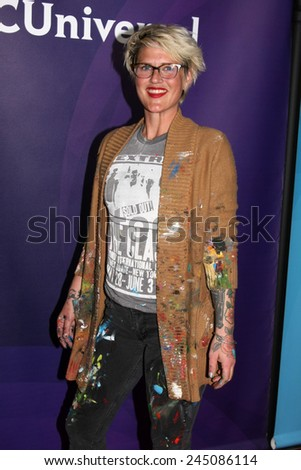 LOS ANGELES - JAN 15:  Annie Preece at the NBCUniversal Cable TCA Winter 2015 at a The Langham Huntington Hotel on January 15, 2015 in Pasadena, CA - stock photo