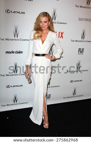 LOS ANGELES - JAN 11:  Bar Paly at the The Weinstein Company / Netflix Golden Globes After Party at a Beverly Hilton Adjacent on January 11, 2015 in Beverly Hills, CA - stock photo