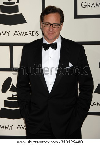 LOS ANGELES - JAN 26:  Bob Sagat arrives at the 56th Annual Grammy Awards Arrivals  on January 26, 2014 in Los Angeles, CA                 - stock photo
