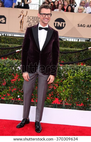 LOS ANGELES - JAN 30:  Brad Goreski at the 22nd Screen Actors Guild Awards at the Shrine Auditorium on January 30, 2016 in Los Angeles, CA - stock photo