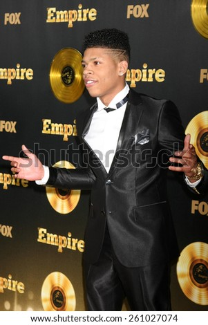 "LOS ANGELES - JAN 6:  Bryshere Gray at the FOX TV ""Empire"" Premiere Event at a ArcLight Cinerama Dome Theater on January 6, 2014 in Los Angeles, CA - stock photo"