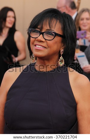 LOS ANGELES - JAN 30:  Cheryl Boone Isaacs at the 22nd Screen Actors Guild Awards at the Shrine Auditorium on January 30, 2016 in Los Angeles, CA - stock photo