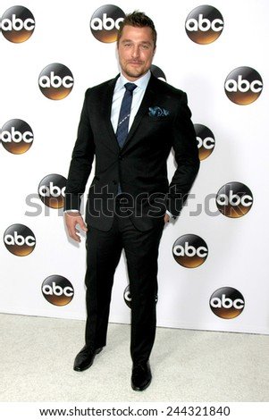 LOS ANGELES - JAN 14:  Chris Soules at the ABC TCA Winter 2015 at a The Langham Huntington Hotel on January 14, 2015 in Pasadena, CA - stock photo