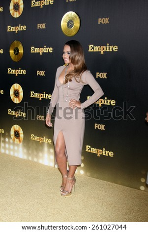 "LOS ANGELES - JAN 6:  Christina Milian at the FOX TV ""Empire"" Premiere Event at a ArcLight Cinerama Dome Theater on January 6, 2014 in Los Angeles, CA - stock photo"