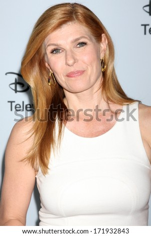 LOS ANGELES - JAN 17:  Connie Britton at the Disney-ABC Television Group 2014 Winter Press Tour Party Arrivals at The Langham Huntington on January 17, 2014 in Pasadena, CA