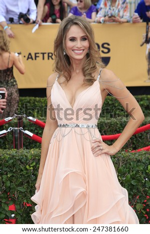 LOS ANGELES - JAN 25:  Danielle Demski at the 2015 Screen Actor Guild Awards at the Shrine Auditorium on January 25, 2015 in Los Angeles, CA - stock photo