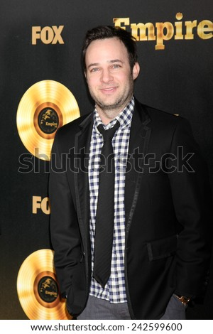 "LOS ANGELES - JAN 6:  Danny Strong at the FOX TV ""Empire"" Premiere Event at a ArcLight Cinerama Dome Theater on January 6, 2014 in Los Angeles, CA - stock photo"