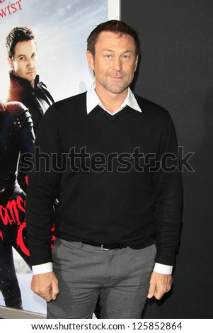 LOS ANGELES - JAN 23: Grant Bowler at the LA premiere of Paramount Pictures' 'Hansel And Gretel: Witch Hunters' at Grauman's Chinese Theater on January 24, 2013 in Los Angeles, California - stock photo