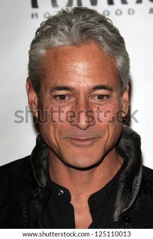LOS ANGELES - JAN 15:  Greg Louganis arrives at the opening night of 'Peter Pan' at Pantages Theater on January 15, 2013 in Los Angeles, CA