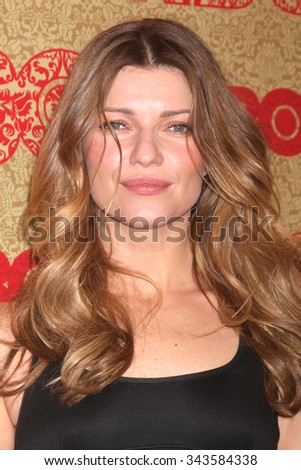 LOS ANGELES - JAN 12:  Ivana Milicevic at the HBO 2014 Golden Globe Party at the Beverly Hilton Hotel on January 12, 2014 in Beverly Hills, CA - stock photo