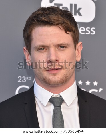 LOS ANGELES - JAN 11:  Jack O'Connell arrives for the 23rd Annual Critics' Choice Awards on January 11, 2018 in Santa Monica, CA