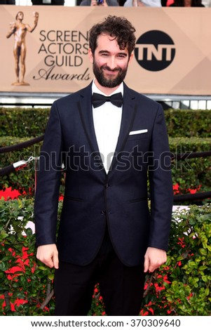 LOS ANGELES - JAN 30:  Jay Duplass at the 22nd Screen Actors Guild Awards at the Shrine Auditorium on January 30, 2016 in Los Angeles, CA - stock photo