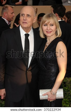 LOS ANGELES - JAN 30:  Jeffrey Tambor at the 22nd Screen Actors Guild Awards at the Shrine Auditorium on January 30, 2016 in Los Angeles, CA - stock photo