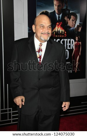 LOS ANGELES - JAN 7: Jon Polito at Warner Bros. Pictures' 'Gangster Squad' premiere at Grauman's Chinese Theater on January 7, 2013 in Los Angeles, California - stock photo