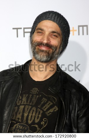 LOS ANGELES - JAN 23:  Jonathan Schaech at the Annual Trans4m Benefit Concert at Avalon on January 23, 2014 in Los Angeles, CA