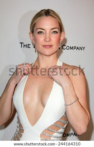 LOS ANGELES - JAN 11:  Kate Hudson at the The Weinstein Company / Netflix Golden Globes After Party at a Beverly Hilton Adjacent on January 11, 2015 in Beverly Hills, CA - stock photo