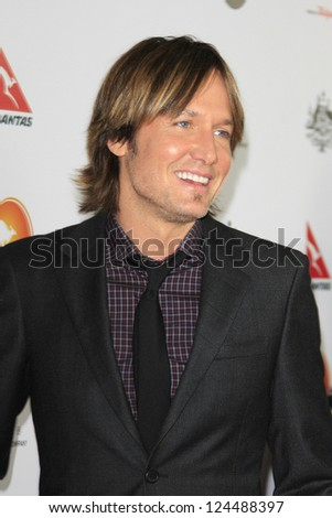 LOS ANGELES - JAN 12: Keith Urban at the 2013 G'Day USA Los Angeles Black Tie Gala at JW Marriott on January 12, 2013 in Los Angeles, California