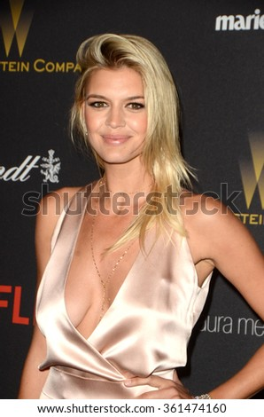 LOS ANGELES - JAN 10:  Kelly Rohrbach at the Weinstein Company & Netflix 2016 Golden Globe After Party at the Beverly Hilton on January 10, 2016 in Beverly Hills, CA - stock photo