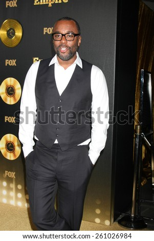 "LOS ANGELES - JAN 6:  Lee Daniels at the FOX TV ""Empire"" Premiere Event at a ArcLight Cinerama Dome Theater on January 6, 2014 in Los Angeles, CA - stock photo"