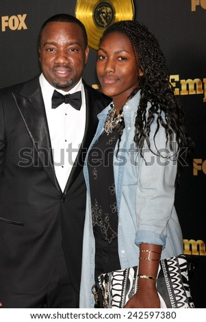 "LOS ANGELES - JAN 6:  Malik Yoba at the FOX TV ""Empire"" Premiere Event at a ArcLight Cinerama Dome Theater on January 6, 2014 in Los Angeles, CA - stock photo"