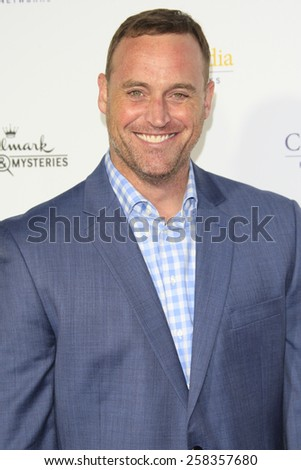 LOS ANGELES - JAN 8: Matt Iseman at the TCA Winter 2015 Event For Hallmark Channel and Hallmark Movies & Mysteries at Tournament House on January 8, 2015 in Pasadena, CA - stock photo