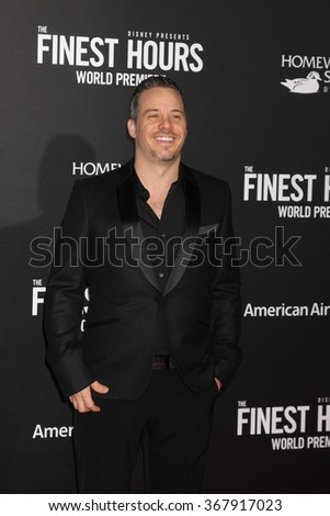 LOS ANGELES - JAN 25:  Michael Raymond-James at the The Finest Hours World Premiere at the TCL Chinese Theater IMAX on January 25, 2016 in Los Angeles, CA