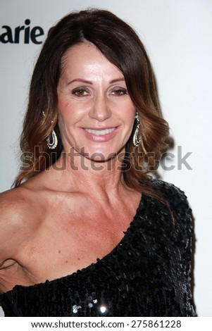 LOS ANGELES - JAN 11:  Nadia Comaneci at the The Weinstein Company / Netflix Golden Globes After Party at a Beverly Hilton Adjacent on January 11, 2015 in Beverly Hills, CA - stock photo