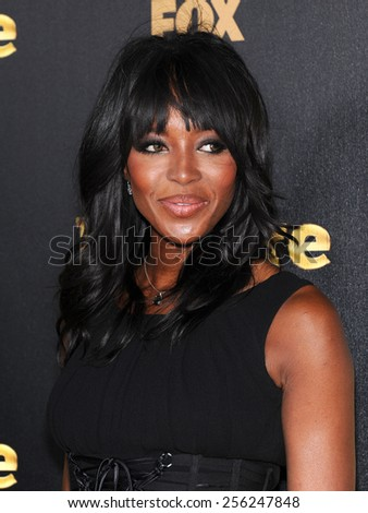 "LOS ANGELES - JAN 06:  Naomi Campbell arrives to the ""Empire"" Los Angeles Premiere  on January 6, 2015 in Hollywood, CA                 - stock photo"