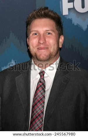 LOS ANGELES - JAN 17:  Nate Torrence at the FOX TCA Winter 2015 at a The Langham Huntington Hotel on January 17, 2015 in Pasadena, CA - stock photo