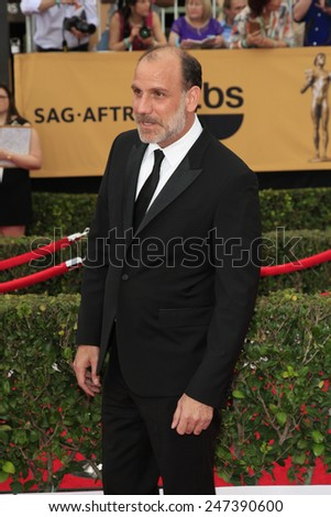 LOS ANGELES - JAN 25:  Nick Sandow at the 2015 Screen Actor Guild Awards at the Shrine Auditorium on January 25, 2015 in Los Angeles, CA - stock photo